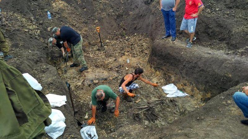 Сражались с Россией: в Украине нашли десятки тел бойцов УНР