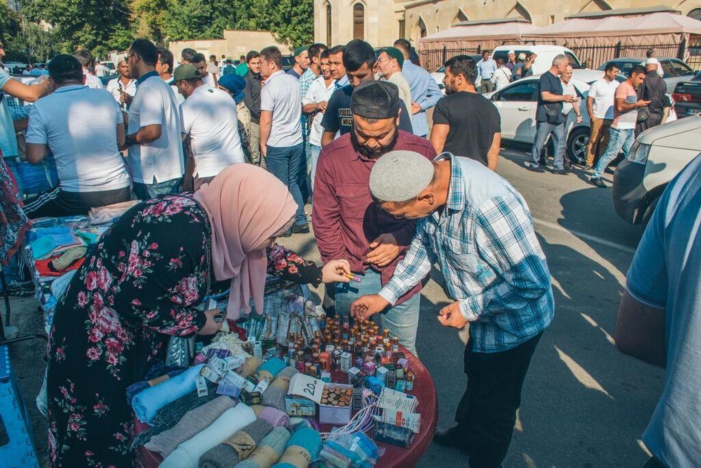 Курбан-байрам в Киеве: яркие фото с большого праздника мусульман