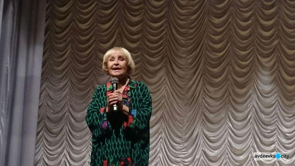 Роговцева выступила на Донбассе с мощной речью