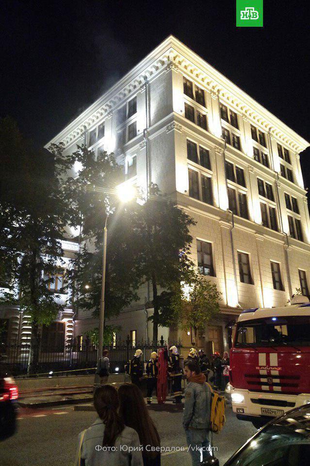В Москве загорелся Центральный банк России: подробности, фото и видео
