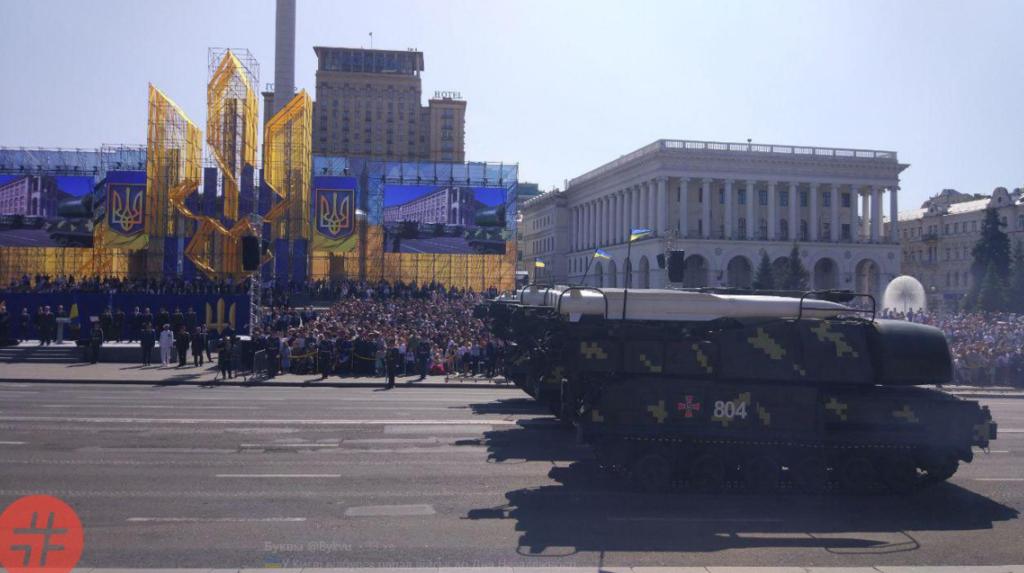 Впечатляющий военный парад в Киеве: чем хвасталась Украина