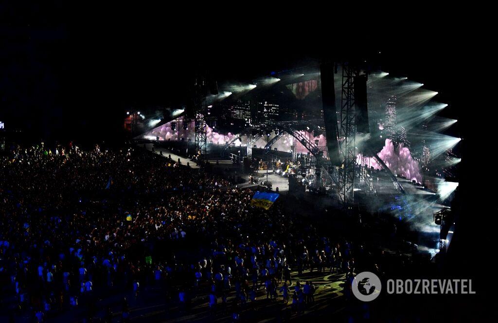 """Как прошел концерт """"Океана Ельзи"""" в Киеве"""