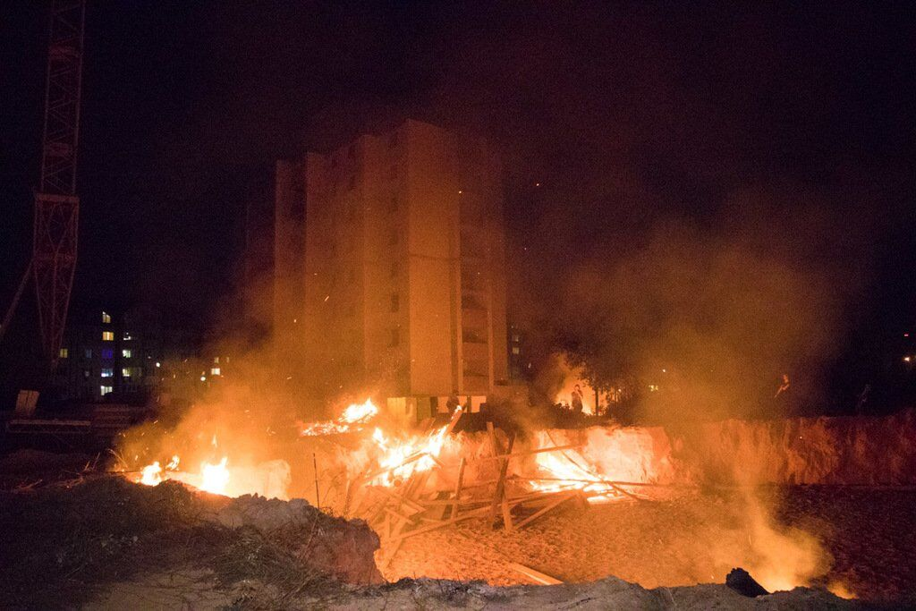 Под Киевом люди объявили войну бизнес-произволу