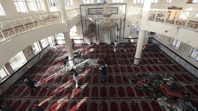 В Афганистане смертник атаковал мечеть