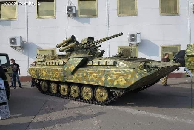Украинские разработки модернизации легкой бронетехники, БМП