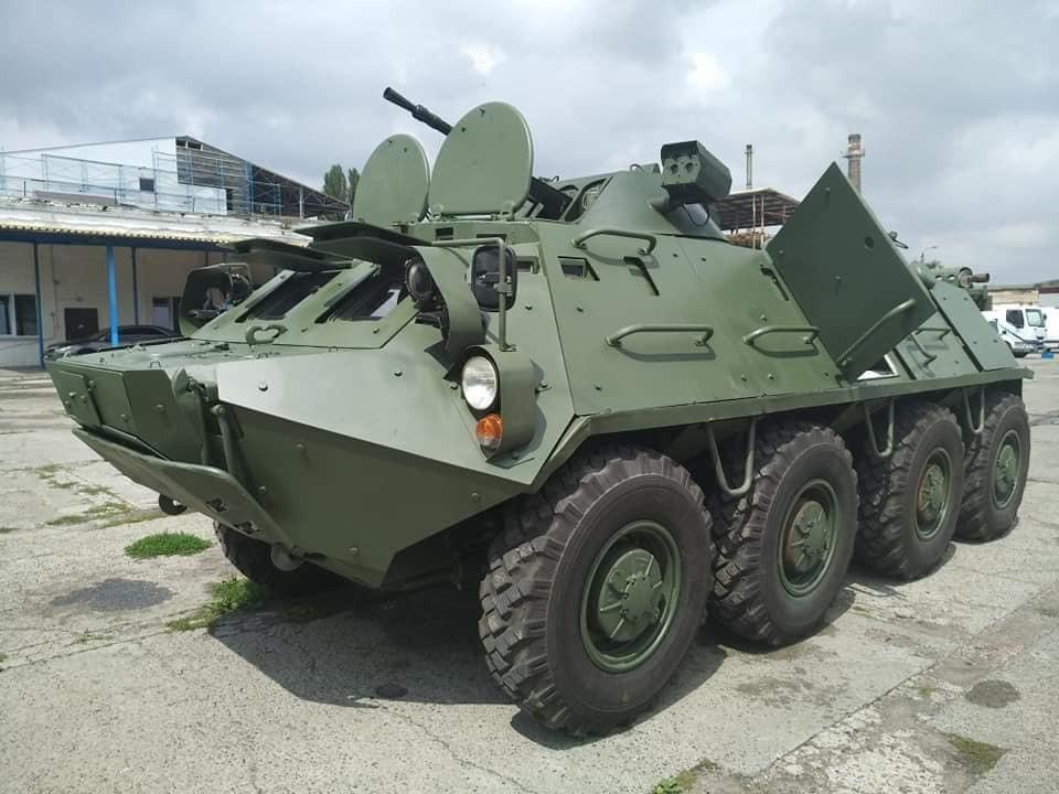 Украинские разработки модернизации легкой бронетехники, БТР