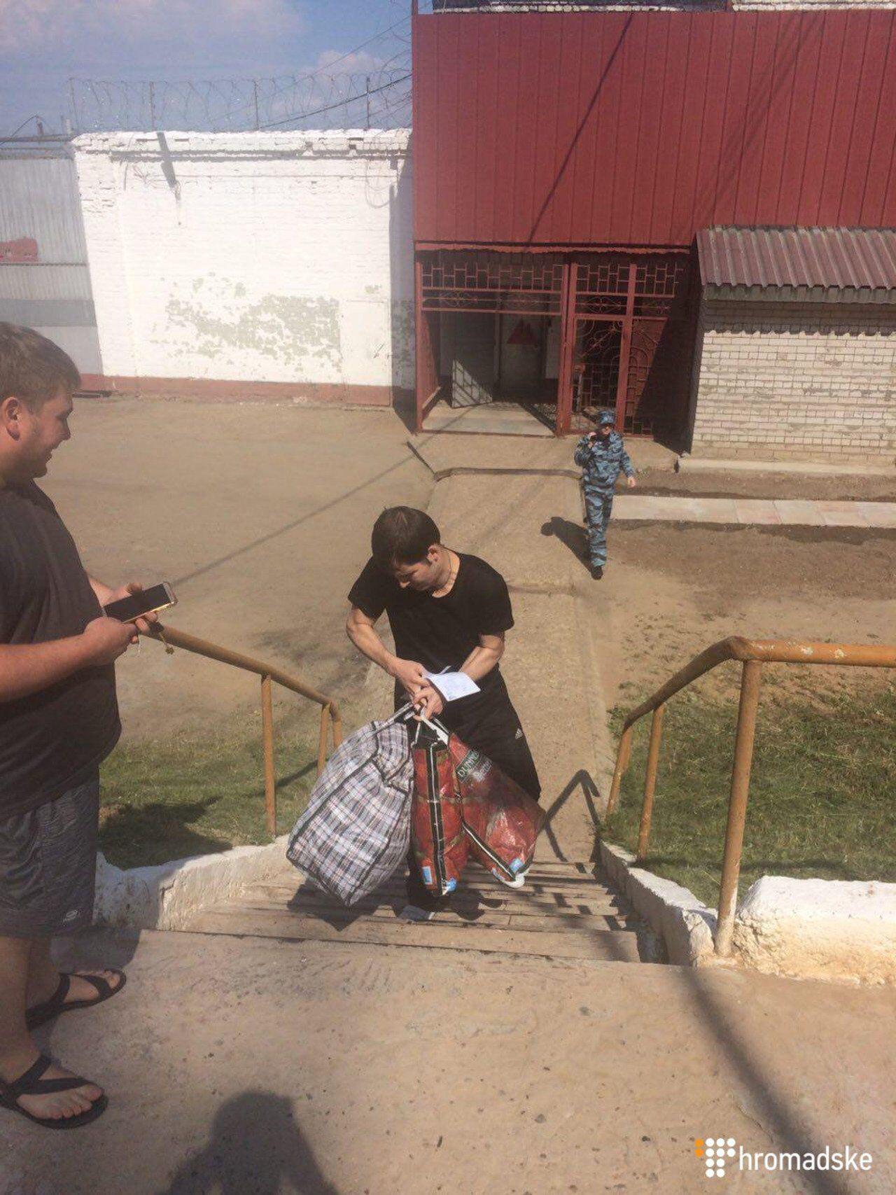 Украинский узник Кремля вышел на свободу: все подробности