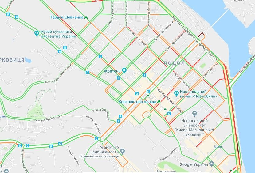 Хорошо стоим: какая ситуация на дорогах Киева