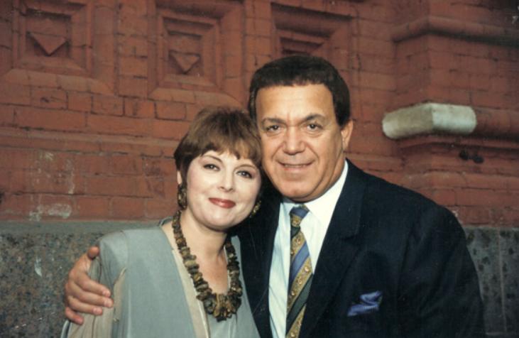 Клара Новікова з Йосипом Кобзоном