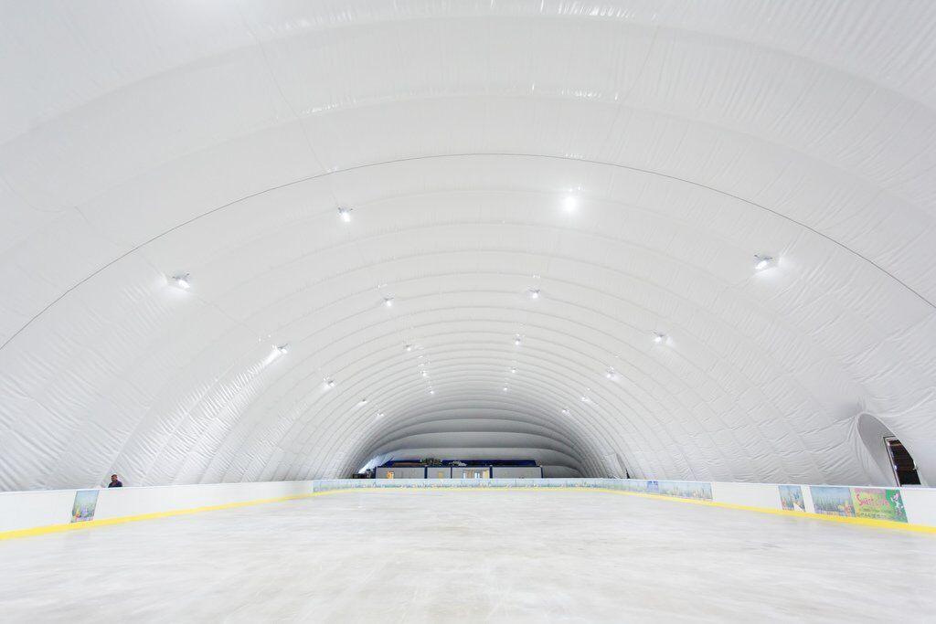 На ВДНХ начнет работать ледовая арена для профессиональных занятий спортом