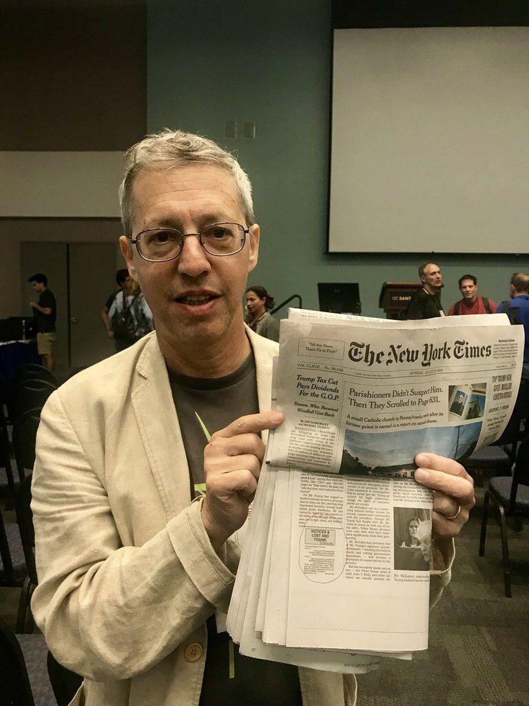 Друкують 23 роки: в американській газеті виявили найстаріший секретний код