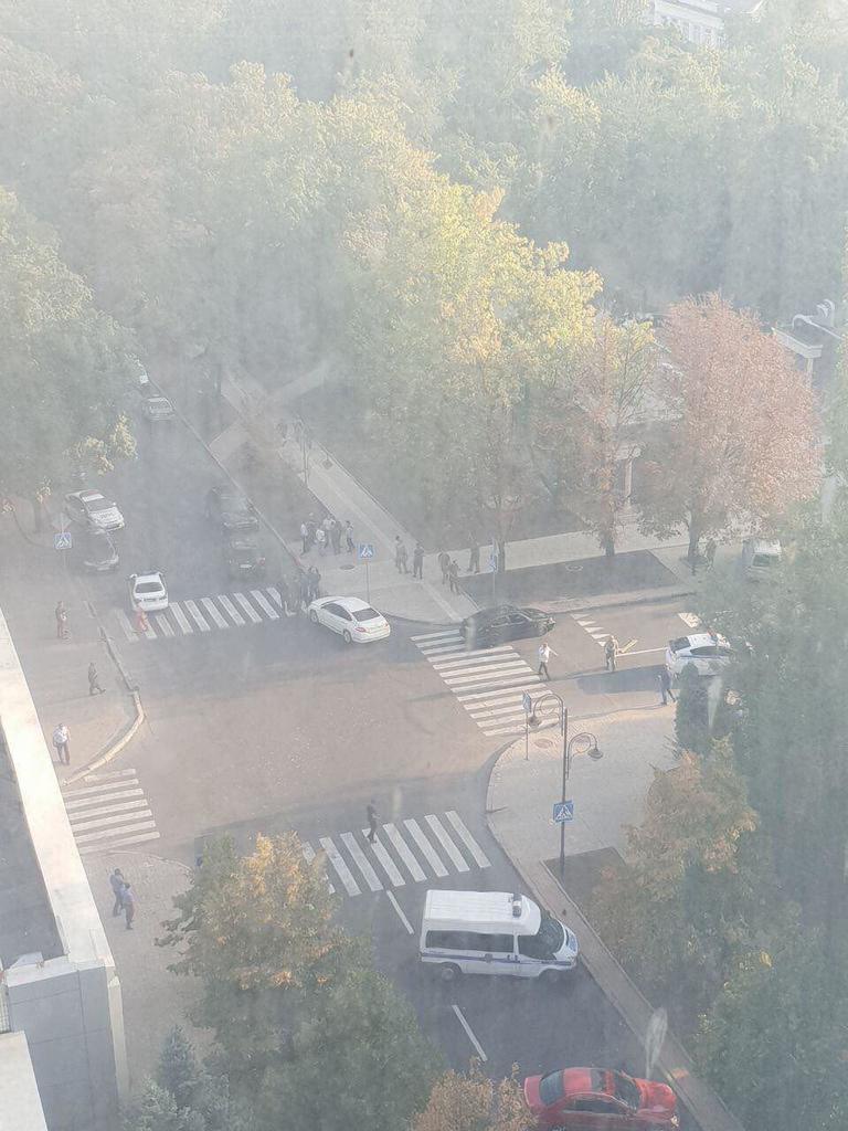 Події в центрі Донецька