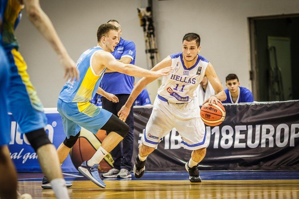 Євробаскет U-18: Греція - Україна