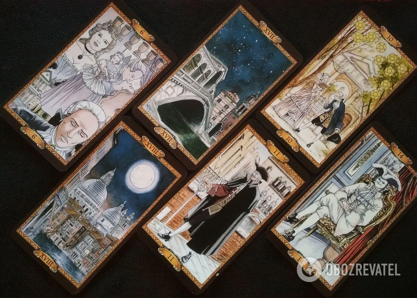 Любовный гороскоп на 6-12 августа по Таро Казановы
