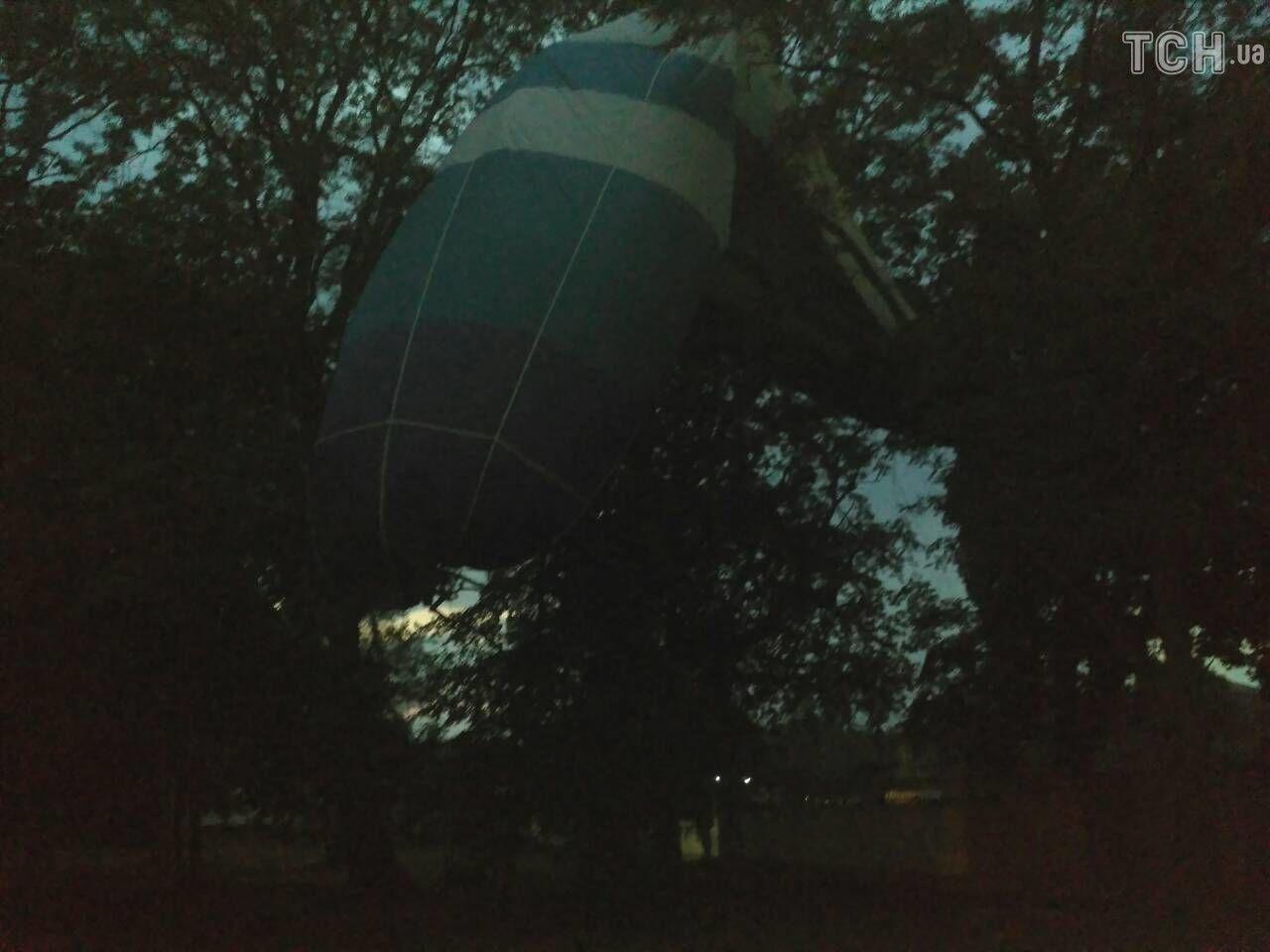 На Кіровоградщині розбилася повітряна куля