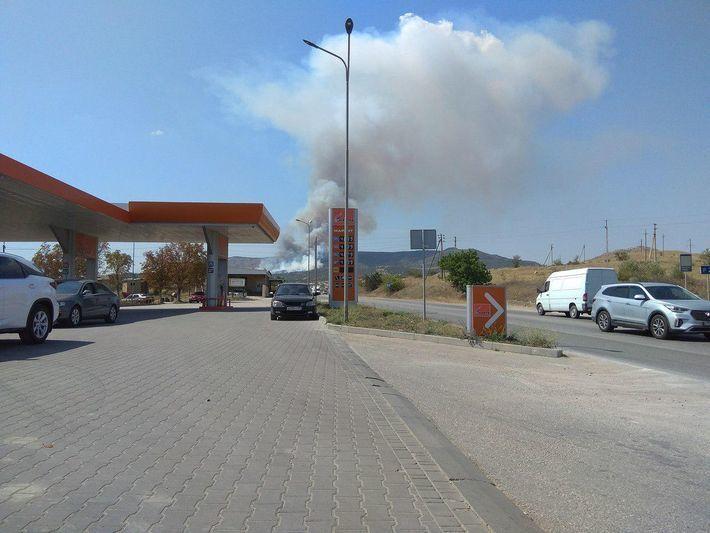 Оккупанты стянули авиацию: в Крыму произошла новая масштабная катастрофа