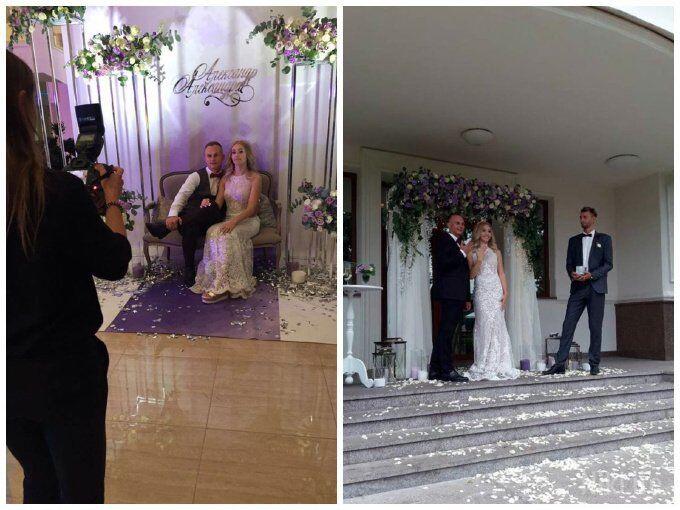 Весілля Олександра Абраменка