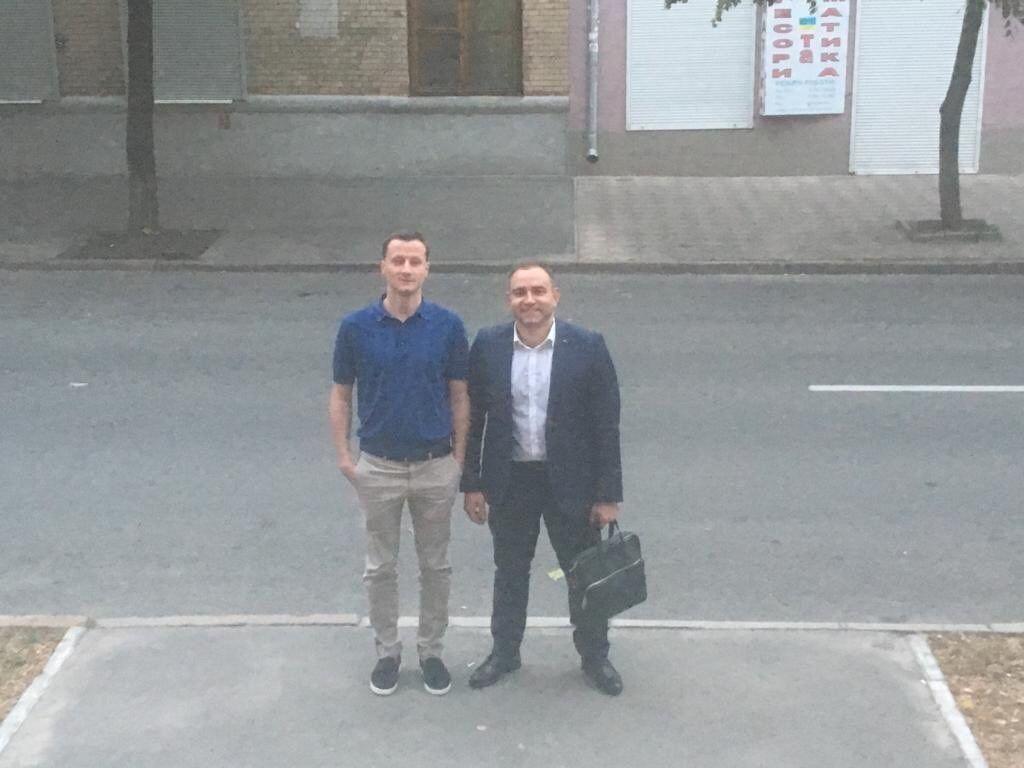 Литвин и его адвокат