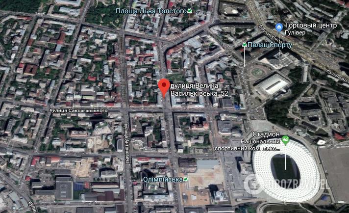 Стрельба произошла во дворе дома №52 на ул. Большая Васильковская
