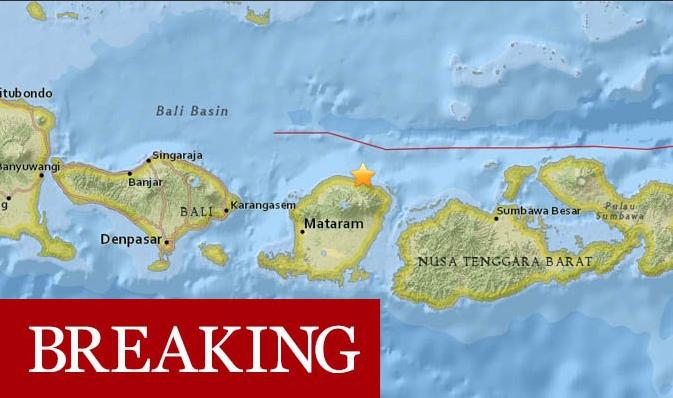 Рядом с популярным курортом произошло сильное землетрясение