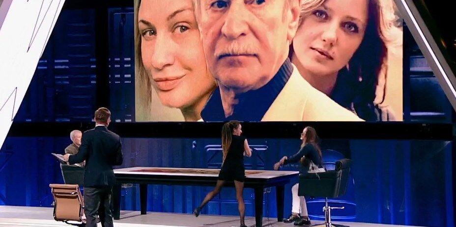 ''Ты откуда вылезла?!'' На росТВ подрались из-за 87-летнего актера Краско