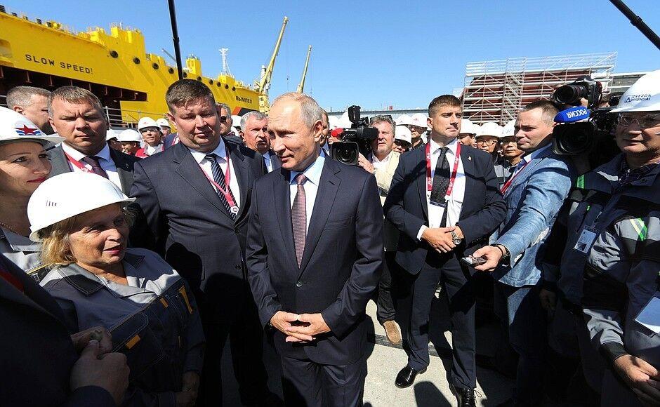Путин на встрече