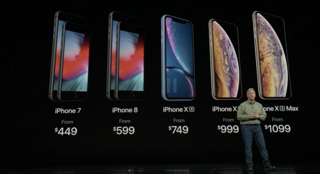 Новый модельный ряд Iphone