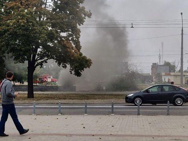 В метро Харькова вспыхнул пожар: фото и видео