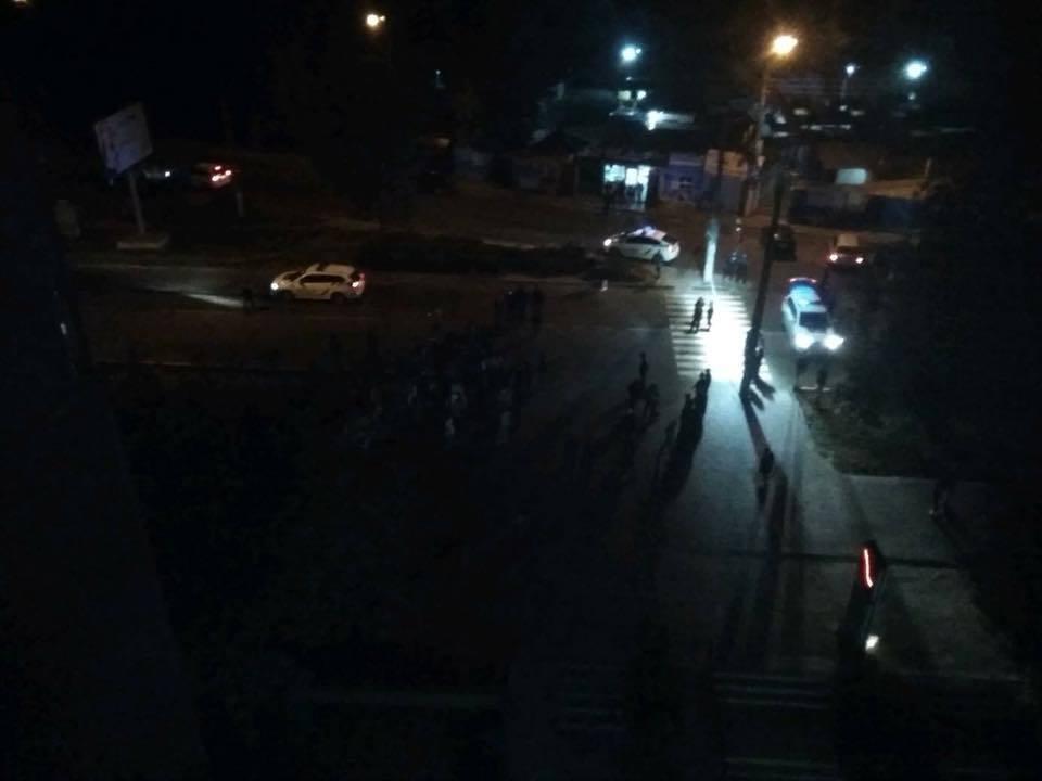 В Черновцах авто полиции насмерть сбило пешехода: патрульные сбежали