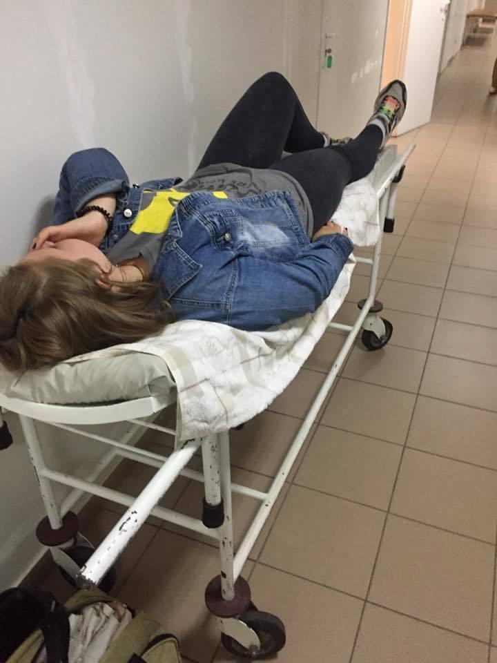 Лиза Носенко после нападения