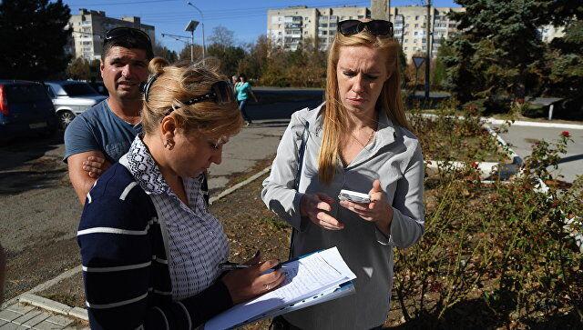 Жители собирают подписи под своими требованиями