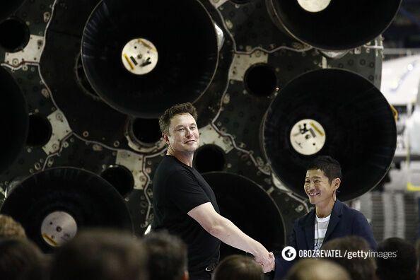 Ексцентричний мільярдер: Маск назвав ім'я першого космічного туриста