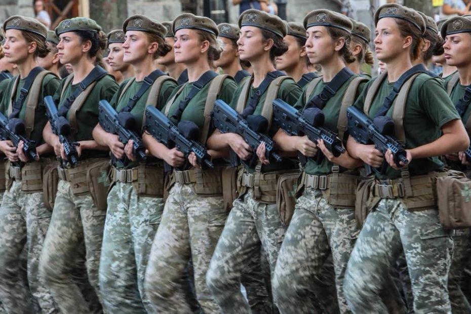 Парад ко Дню Независимости Украины в Киеве
