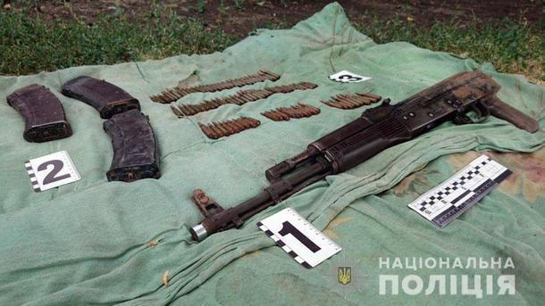 Полиция поймала террориста с арсеналом оружия