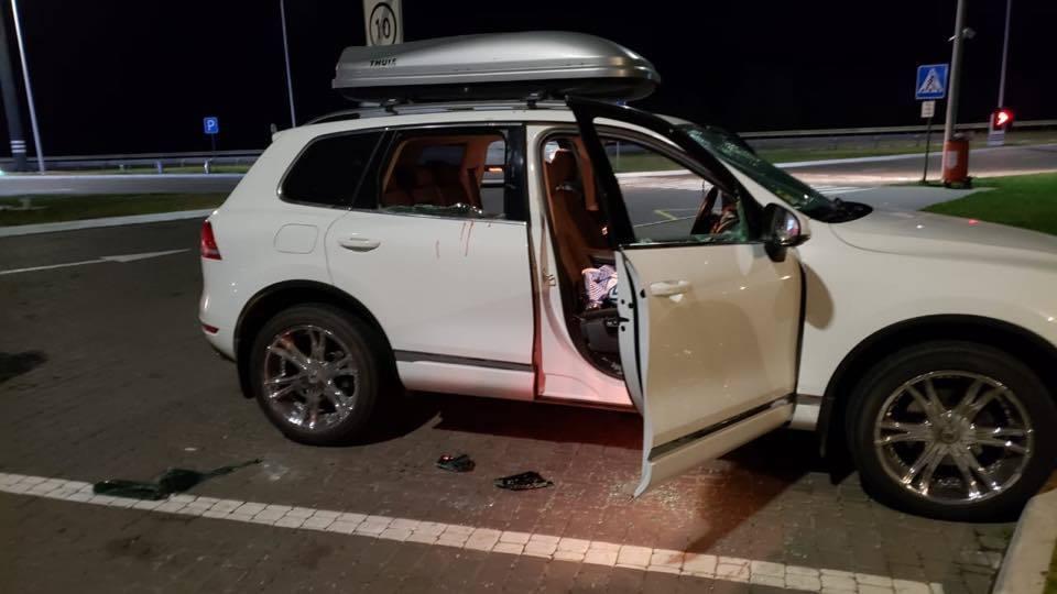 На трассе Одесса-Киев ограбили авто с пассажирами