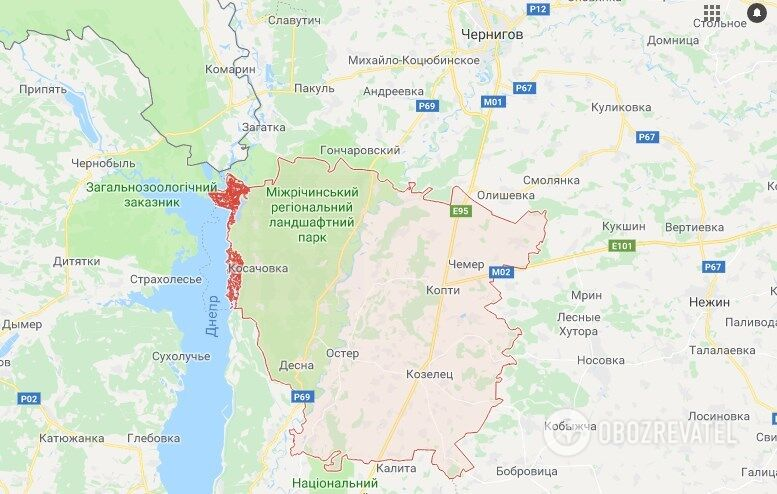 ДТП в Черниговской области