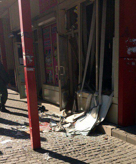 Взрыв в Донецке: в сеть слили видео