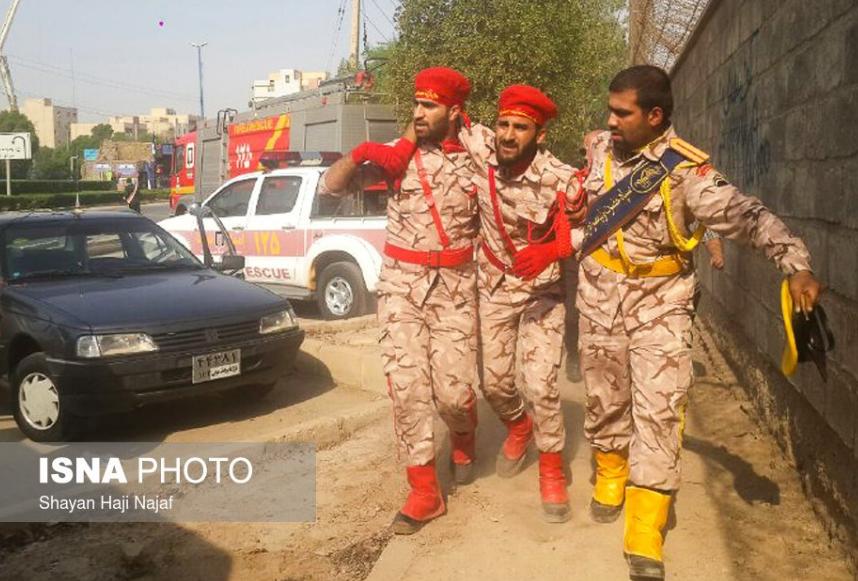 В Иране устроили теракт на военном параде: десятки раненых