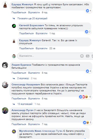 Закарпатцы-фанаты Венгрии попали в ''Миротворец''