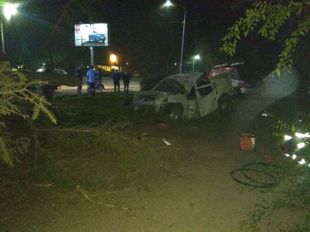 Вспыхнул, как спичка: в Ривне произошло огненное смертельное ДТП