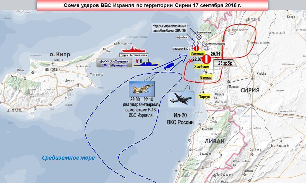 Россия выдвинула Израилю официальные обвинения по Ил-20