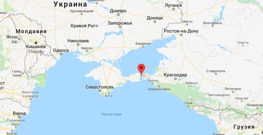 ''Дошли!'' Флот Украины приблизился к Крымскому мосту