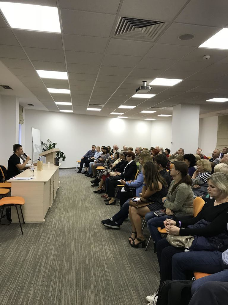Кириленко презентовал свою книгу на Форуме издателей во Львове