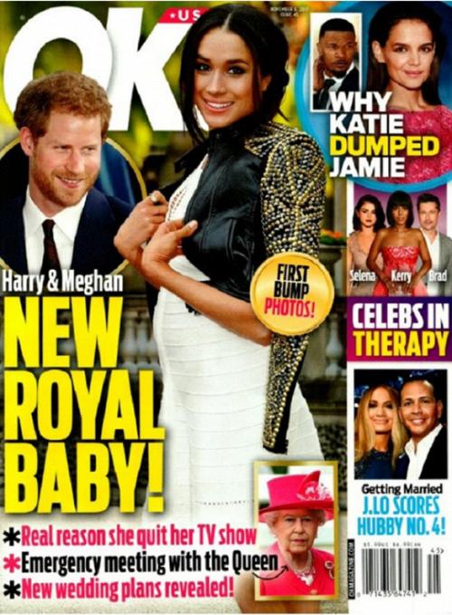 Британські ЗМІ показали фото вагітної Меган Маркл