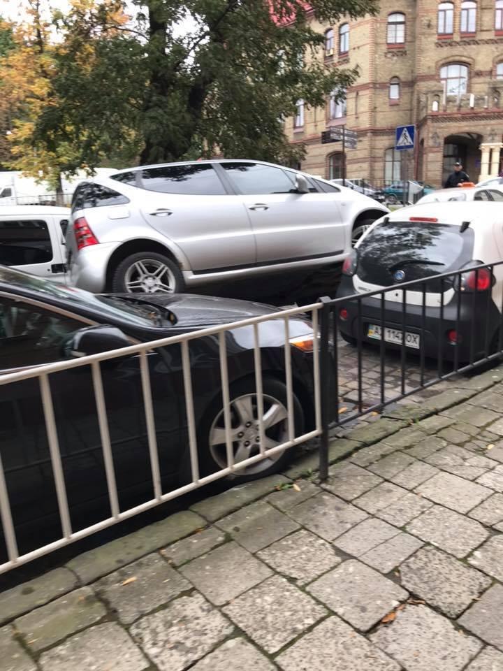 Дівчина зі Львова здивувала мережу своїм паркуванням