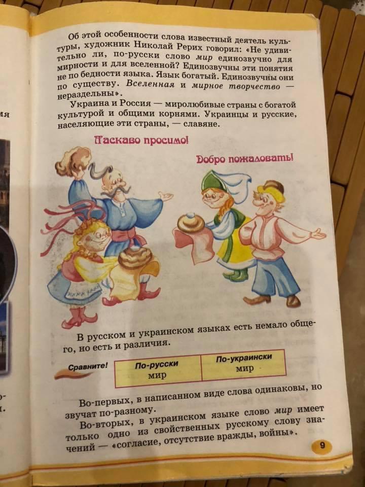 В школе Киева – скандал из-за русского языка