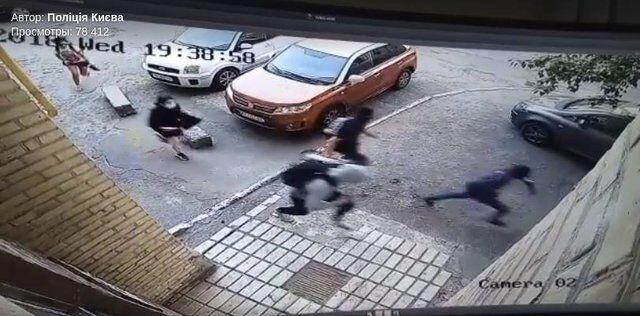 Погоня за кіборгом в Києві