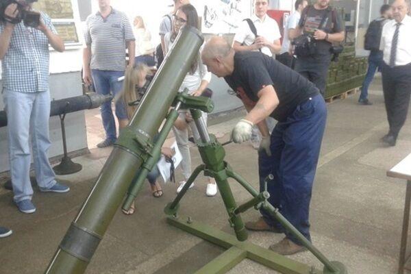 """120-мм миномет """"Молот"""""""