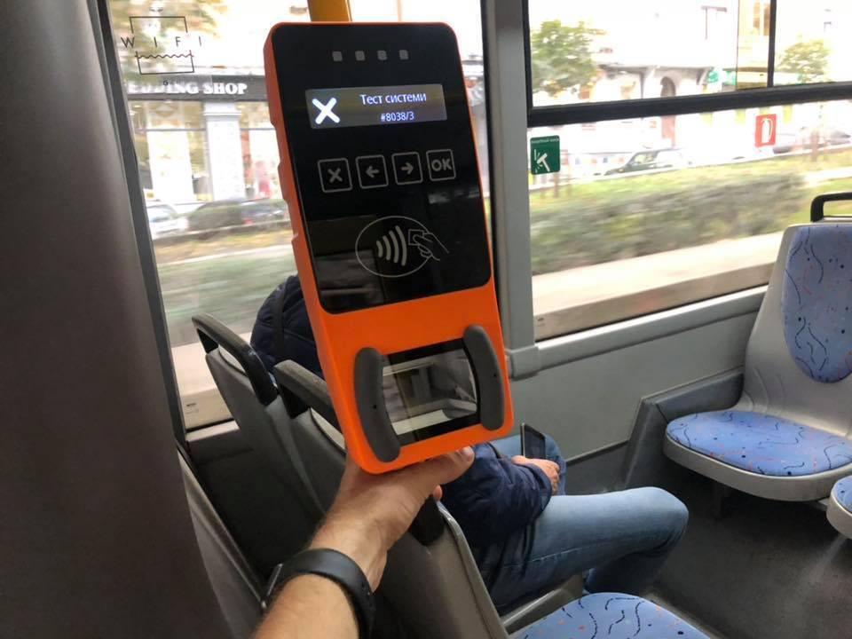 В киевском транспорте появились новые системы оплаты проезда