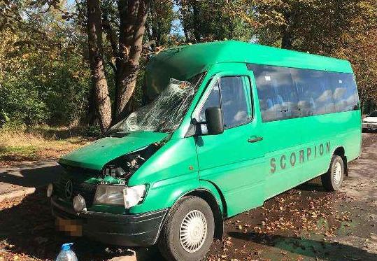 В Украине произошла череда кровавых ДТП с маршрутками